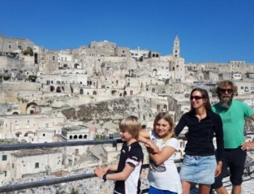 Rondstruinen in Matera