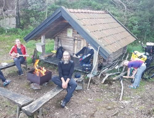 Mini wildernis hut