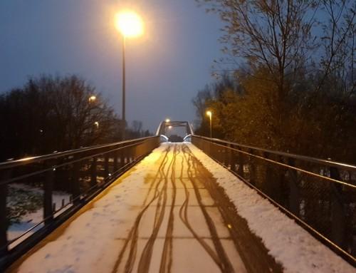 11 tips om te fietsen in de sneeuw
