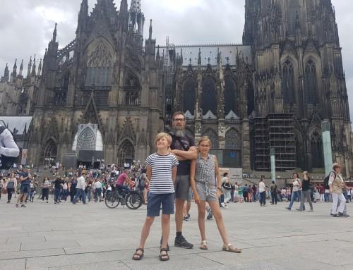 De aankomst in Keulen