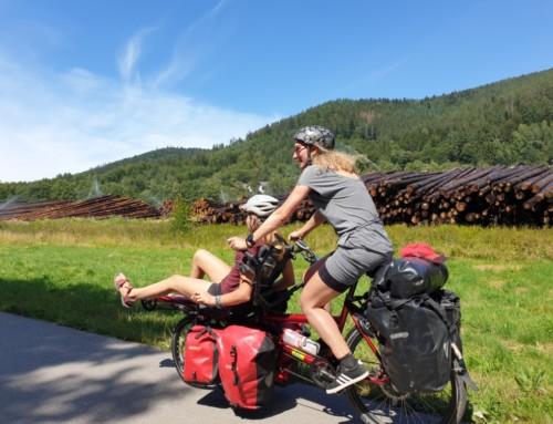 Schwarzwald dag 2: Omhoog