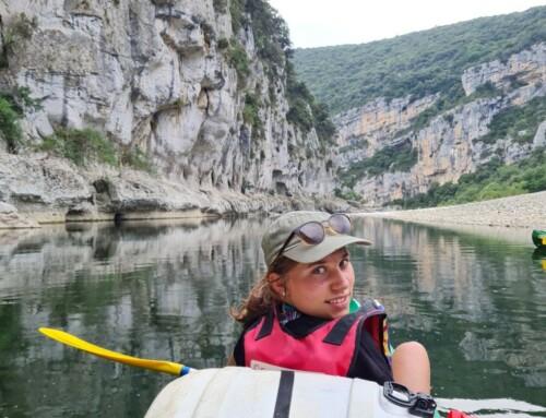 De afvaart van de Ardèche
